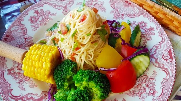 酸辣/胡麻冷麵Cold Pasta 1