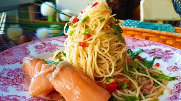酸辣/胡麻冷麵Cold Pasta 3
